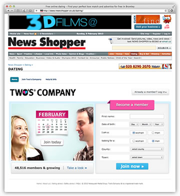 d l w com Two     s company dating site